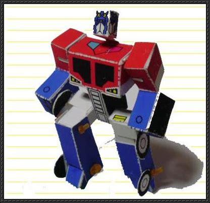 Transformers Papercraft Optimus Prime - optimus prime papercraftsquare free papercraft