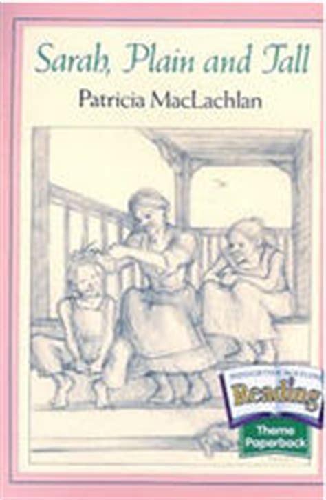 sarah plain and tall maclachlan