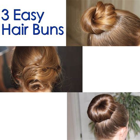 easy buns hairstyles step by step bun hairstyles step by step video quality hair accessories