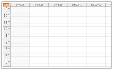 Calendar Js Html5 Calendar With Day Week Month Views Javascript Php