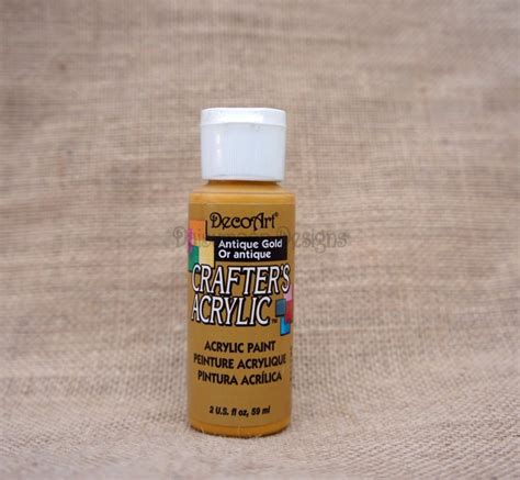 acrylic paint gold deco crafters acrylic paint antique gold daisymoon