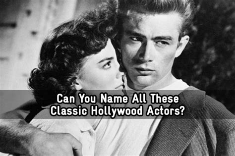 Can You Name All These Classic Hollywood Actors Trivia Quiz | can you name all these classic hollywood actors trivia