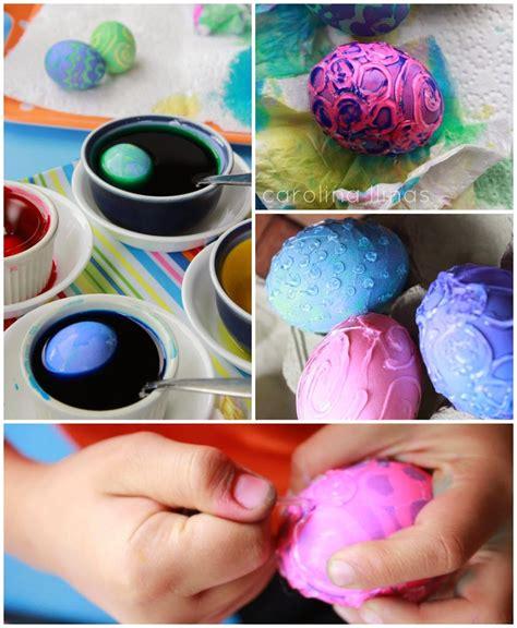 decorar mi huevo huevos de pascua con silicona caliente artividades