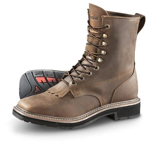 where to buy mens work boots guide gear s square toe lacer work boots 583601