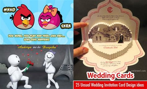 Best Sites To Upload Resume by 25 Creative And Unusual Wedding Invitation Card Design Ideas