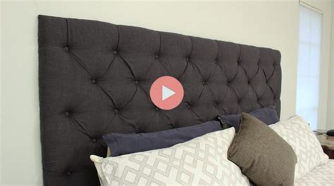 diy tufted headboard king diy tufted king headboard checking in with chelsea