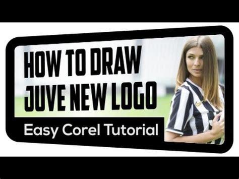 tutorial logo juventus how to draw juventus new logo 2017 youtube