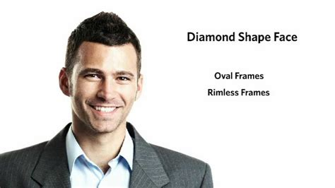 frames for a diamond face shape male youtube