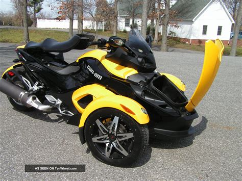 2008 can am spyder rs sm5 trike
