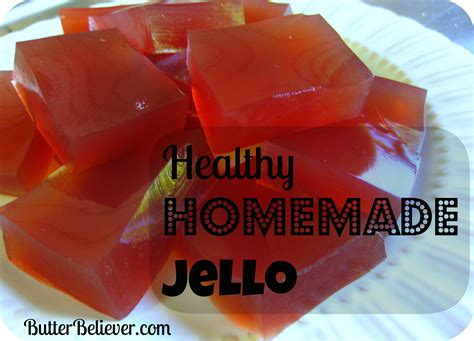 how to make jello butter believer
