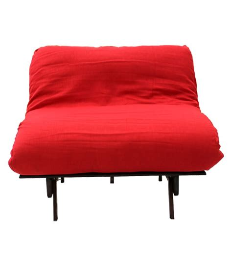 single seater sofa cum bed single seater futon sofa cum bed red mattress available at
