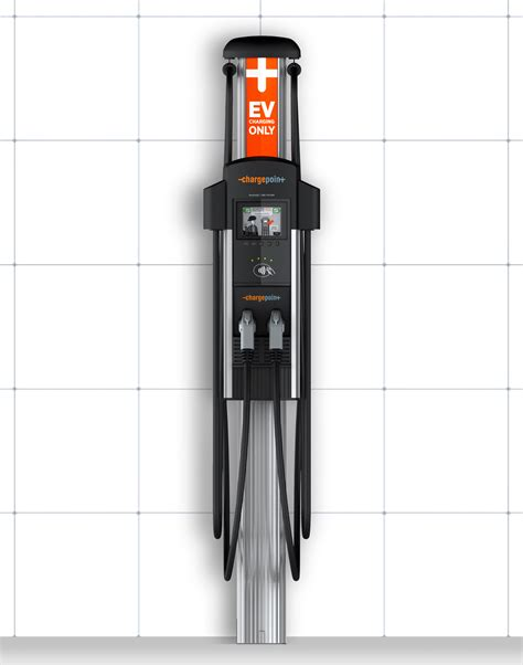 build your own ev charging station chargepoint ct4023 ev level 2 charging station dual port