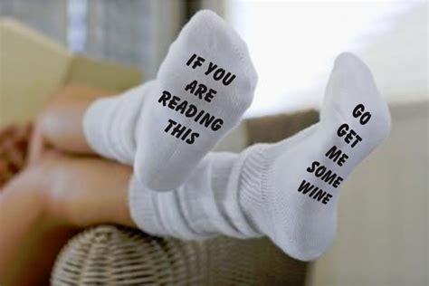 socks with sayings socks with sayings on the bottom wholesale custom socks