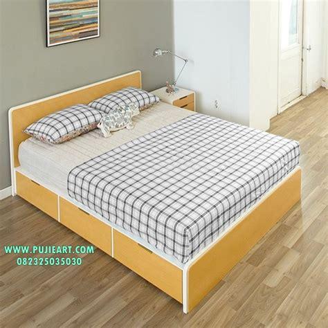 set tempat tidur berlaci set tempat tidur sorong set