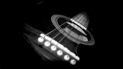 guitar wallpaper black and white hd black and white guitar hd wallpaper 1366x768 bourelle