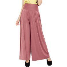 Celana Culottes Kulot Fit To L jual bawahan muslim wanita terbaru lazada co id