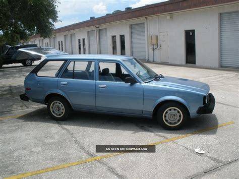 1980 Toyota Wagon 1980 Toyota Corolla Dlx Wagon 5 Door 1 8l