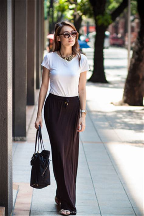 h m maxi skirt how to wear and where to buy chictopia