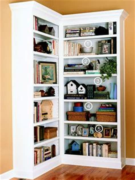 simple decorating tips for bookshelves lots of pictures