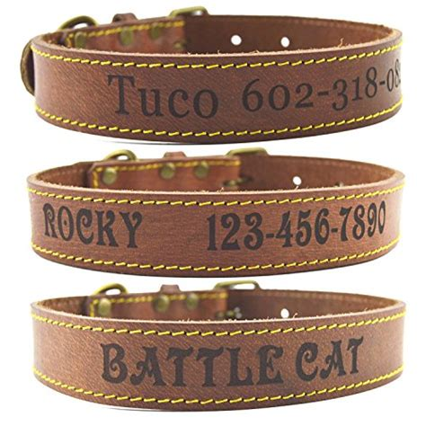 Handmade Collars Australia - top 5 best leather collars for large dogs for sale