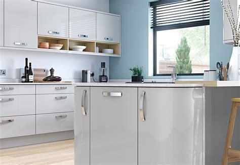 Zola Kitchen by Zola Gloss Light Grey Kitchen Stori