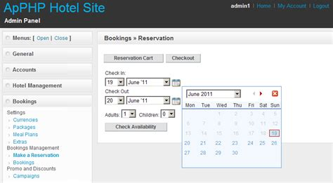 tutorial php booking system php hotel reservation system light by apphpcc codecanyon