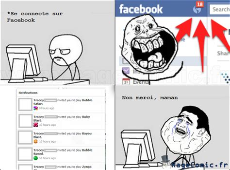 Meme Comics Facebook - facebook comic bd meme invitation jeux maman image gif anim 233