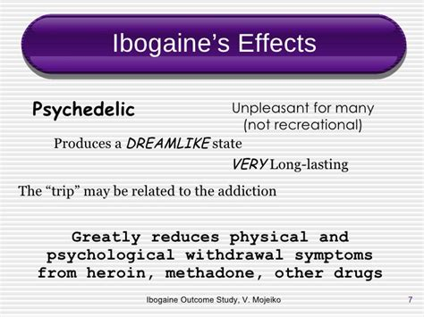 Ibogaine For Methadone Detox by Ibogaine Basel Maps