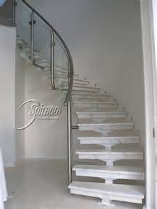 Metal Handrails For Steps Curved Stairs Amp Balustrades Spireco Spiral Stairs
