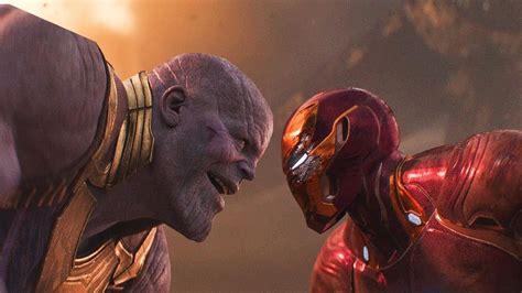 iron man thanos fight scene avengers infinity war