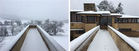 frank lloyd wright foundation frank lloyd wright on the quot taliesin smell quot of winter