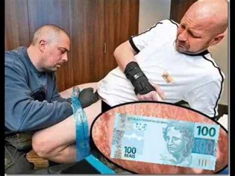 100 liegestütze de tatuagem de 100 reais