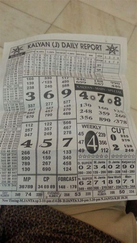 kalyan matka chart with pana kalyan matka chart with pana sattamaster king of matka