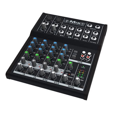Mixer Mackie mix series compact mixers mackie