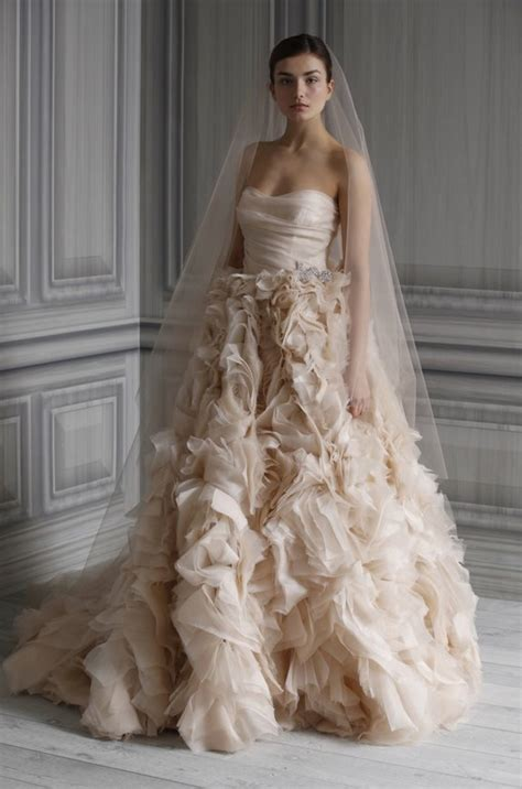 lhuillier bridal lhuillier wedding dresses 2012 onewed
