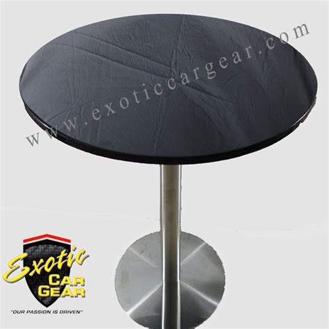 carbon fiber table 30 inch with base car