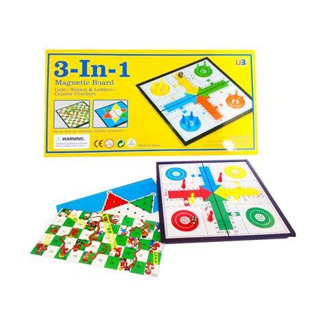 Playmat Snakes And Ladders Mainan Anak Ular Tangga Besar Jt835 jual momo magnetic board 3 in 1 mainan anak ludo halma