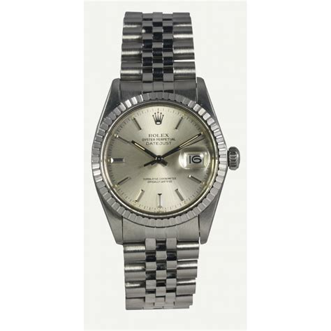 pre owned rolex mens oyster perpetual datejust 16030