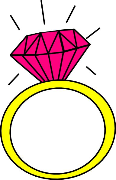 Wedding Rings by Diamond Ring Clip Art Cliparts Co