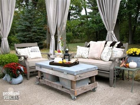 outdoor furniture ideas upcycled unique patio furniture ideas recycled things