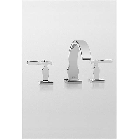 Toto Aimes 174 Widespread Lavatory Faucet Polished Chrome Toto Bathroom Fixtures