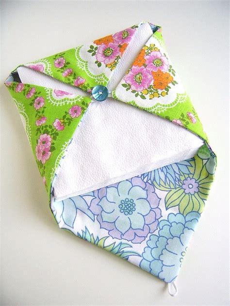 Pattern For Fabric Napkin Holder | fabric napkin holder via flickr sew sew sew