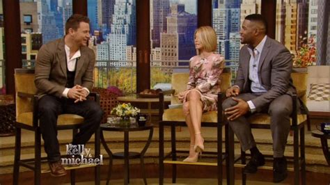 michael strahan out abs channing tatum on the magic mike michael strahan and channing tatum talk magic mike xxl