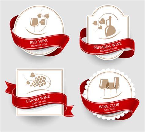 label design eps elegant wine labels vector 03 vector label free download