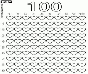 a hundred hearts one hundred designs for coloring crafting and scrapbooking volume 1 books learning to count coloring pages printable 3