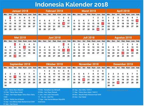 Kalender 2018 Cdr Lengkap Free 13 Desain Kalender Indonesia 2018 Lengkap Dengan Hari