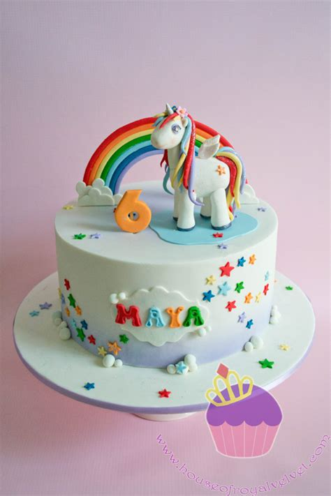 Easy Cake Decoration At Home by Unicorn Cake For Maya