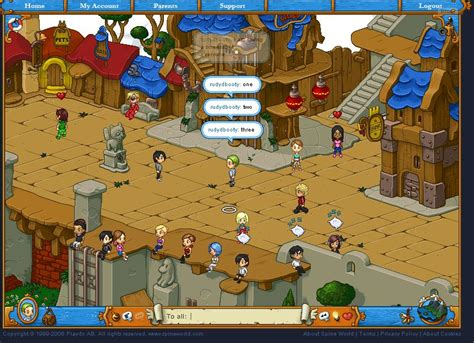 free online virtual world game social games free multiplayer online games
