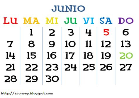 Calendario Mes De Junio Todo Animalcrossingww Calendario De Eventos