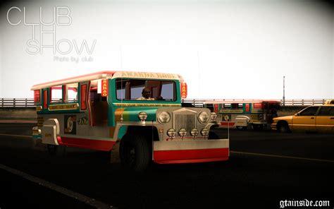 jeep philippines inside gta san andreas jeepney philippines mod gtainside com